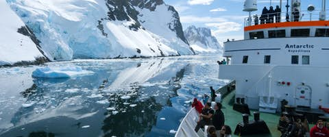 Antarctica in January