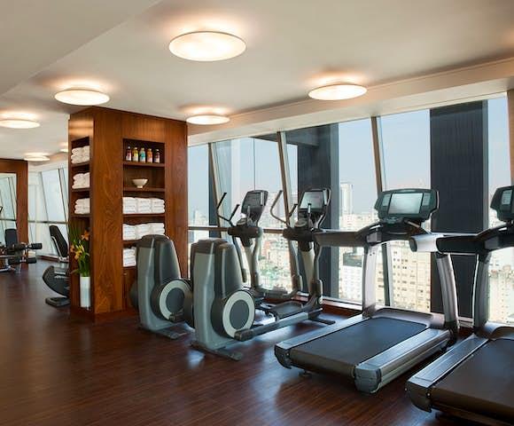 Gym, the Alvear Hotel, Buenos Aires, Argentina
