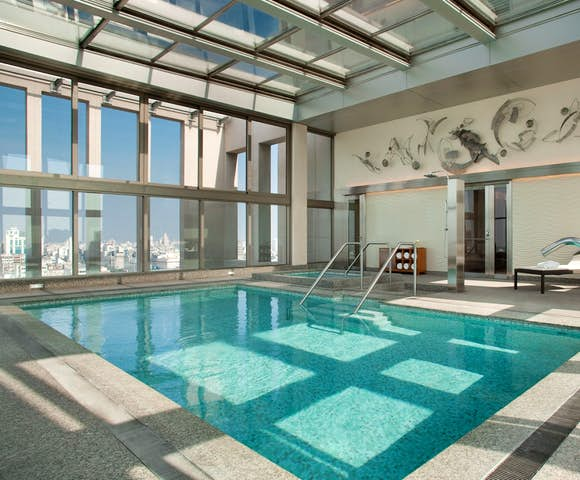 Pool at the Alvear Hotel, Buenos Aires, Argentina
