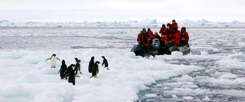 South of the Antarctic Circle