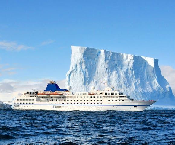 MS Adventurer - Antarctic Ship