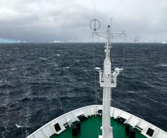 Bransfield Strait crossing, Antarctica