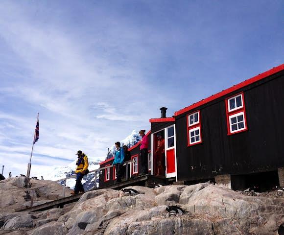 Post office at Port Lockroy, Antarctica