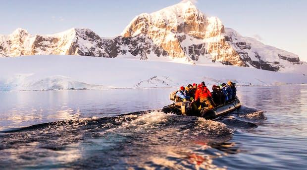 Onto the Antarctic Ice