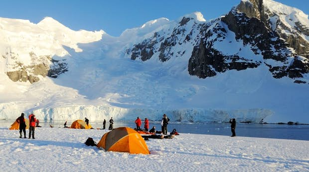 Antarctic Basecamp Adventure