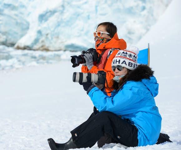 Photography in Antarctica