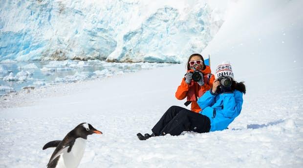 Traversing the Antarctic Circle