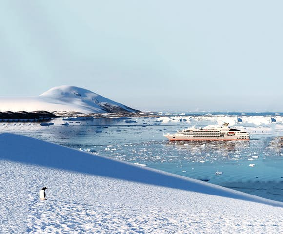 Experience the most luxurious Antarctica cruise