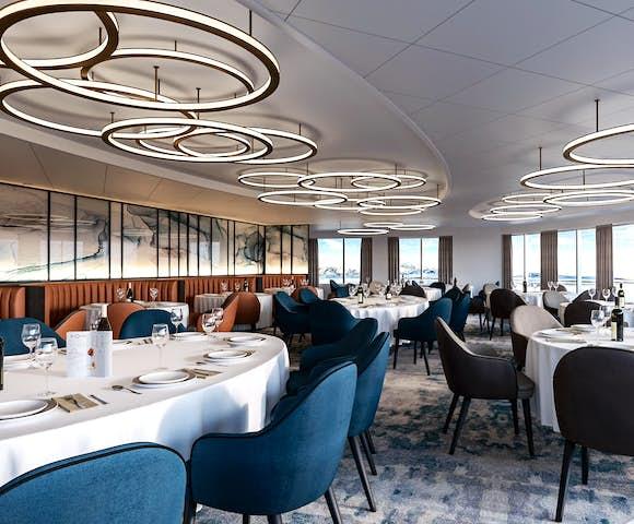 Ultramarine ship restaurant