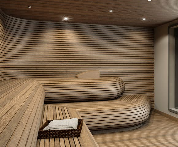 Ultramarine ship sauna