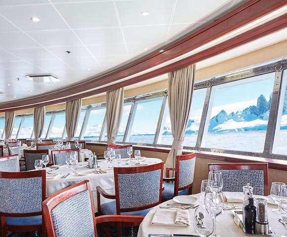 Luxury Antarctica cruise ships
