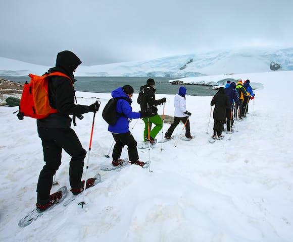 Hiking & Snowshoeing in Antarctica