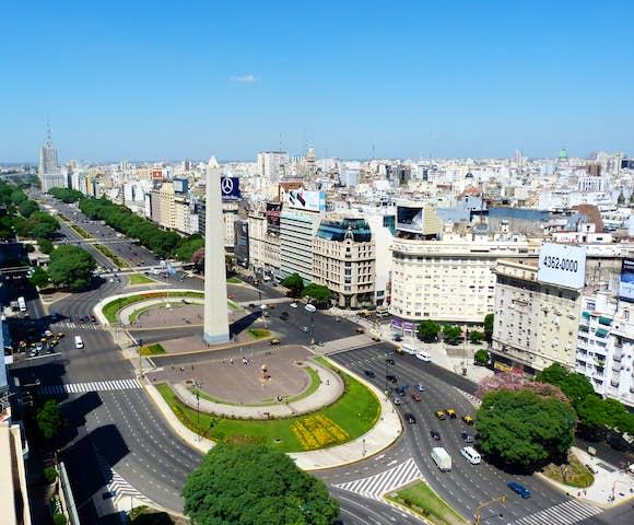 Avenida 9 Julio, Buenos Aires, Argentina