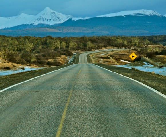 Road trip in Tierra del Fuego